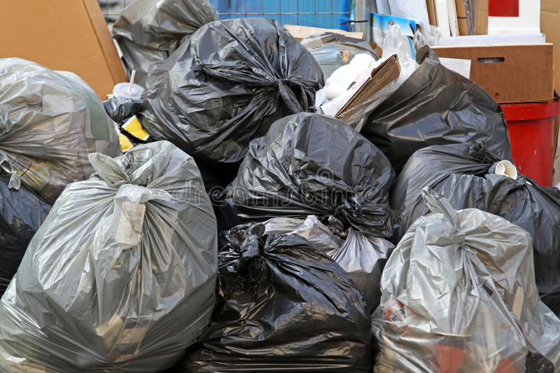 Download Garbage bags stock image. Image of rejected, refuse, junk - 27414313