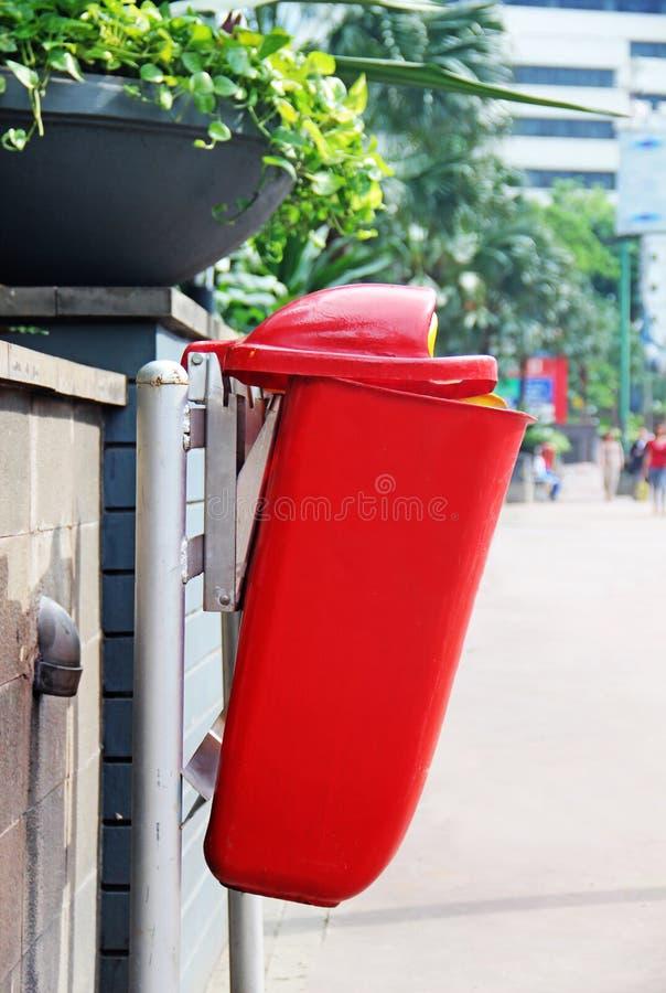 Garbage bin. Garbage disposal street bin stock images