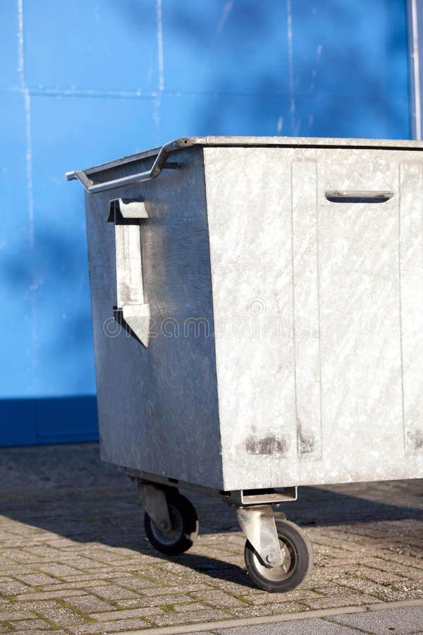 Download Garbage bin stock image. Image of industrial, wheeled - 36088261