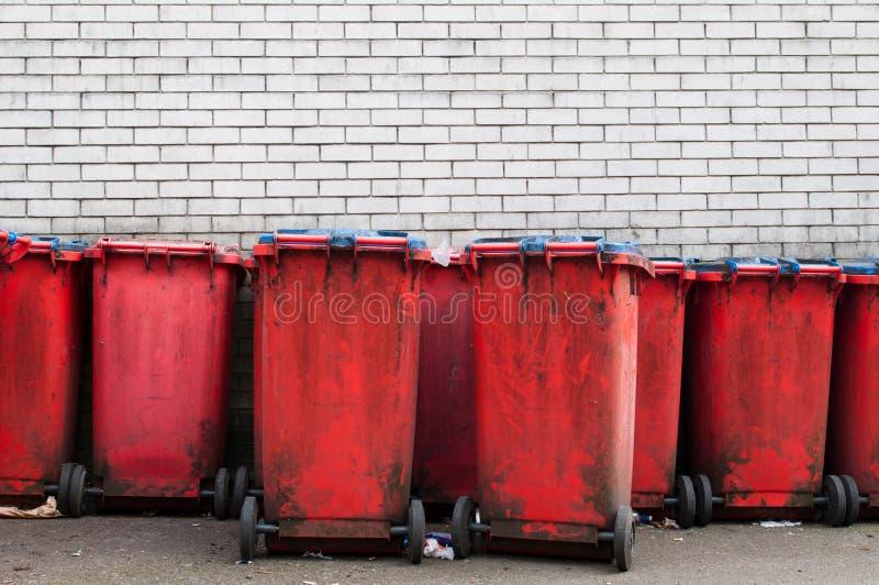 Garbage Bins Stock Images