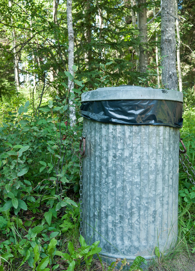 Download Garbage can stock photo. Image of nature, forest, trash - 15414722