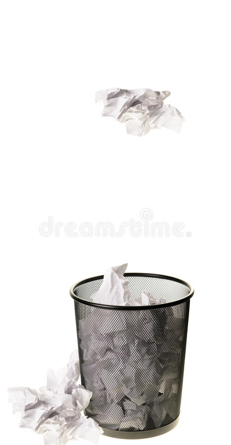 Garbage Can stock image