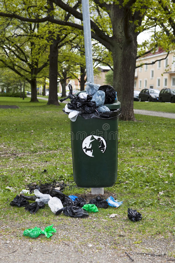 Download Garbage can stock image. Image of curb, environmental - 9444797