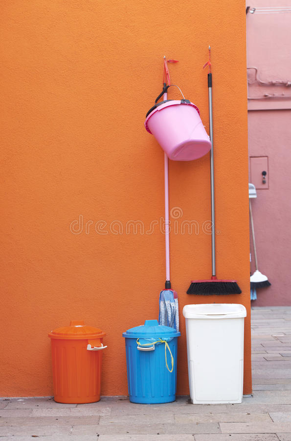 Garbage collector royalty free stock photos