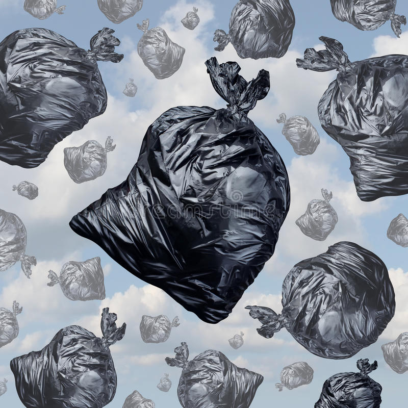 Garbage concept stock illustration