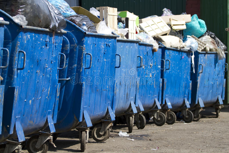 Download Garbage containers stock image. Image of ecology, abandoned - 23235979