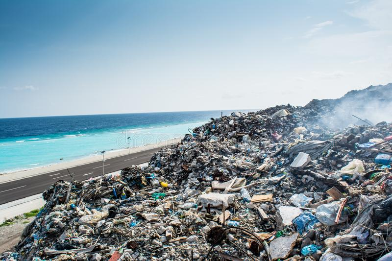 However With All The Plastic Pollution In Ocean And When No One Visits Island Clearly