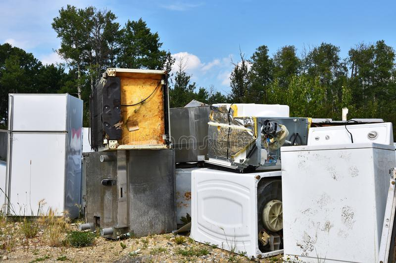 Appliance Recycling stock images