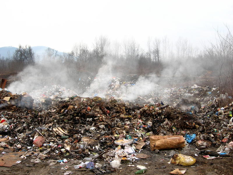 Download Garbage Dump stock image. Image of cardboard, gypsy, burnt - 41332785