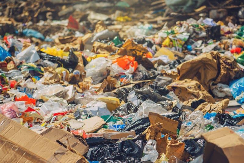Garbage dump royalty free stock images
