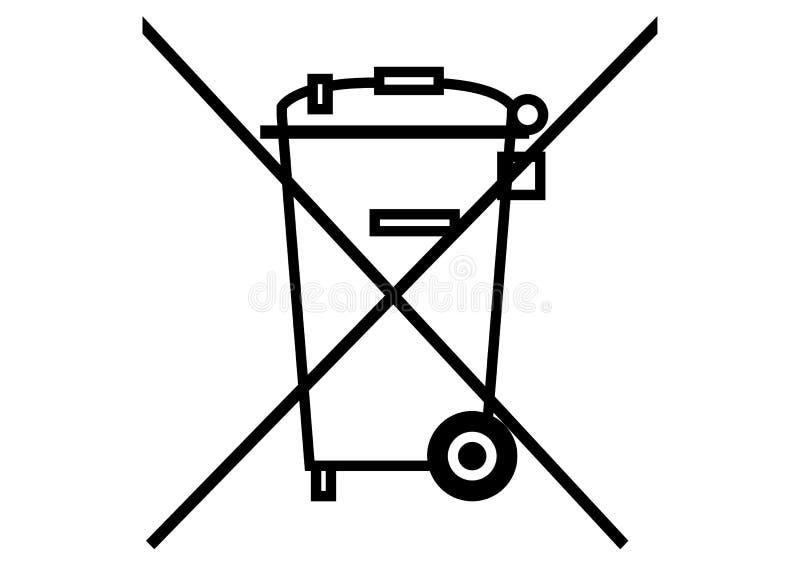 Garbage dumpster vector illustration