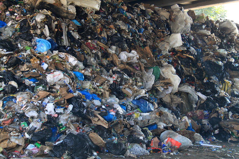 Garbage Heaps, Lebanon royalty free stock images