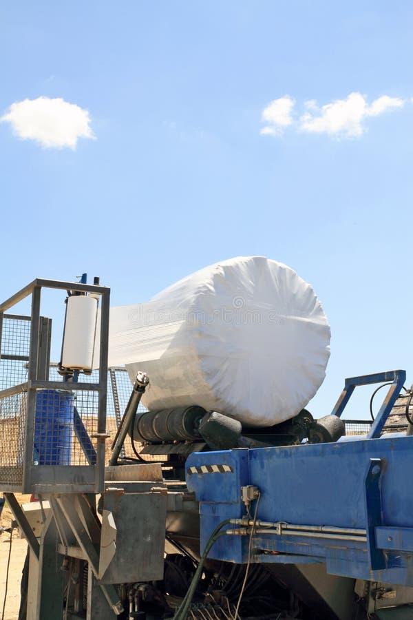 Garbage packing machine royalty free stock photo