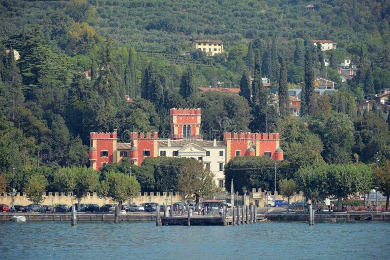 Garda en el lago Garda - Italia fotos de archivo