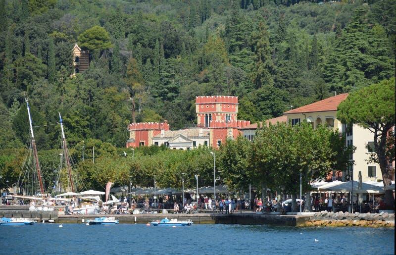 Garda en el lago Garda - Italia fotos de archivo libres de regalías