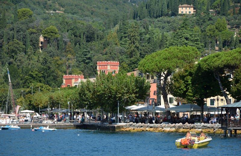 Garda en el lago Garda - Italia imágenes de archivo libres de regalías