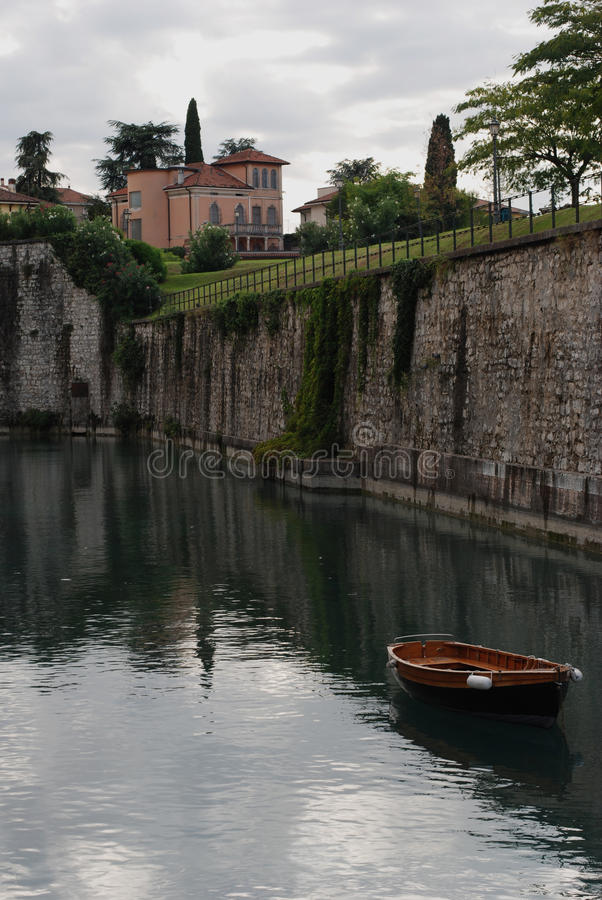 Garda lake, Italy stock photography