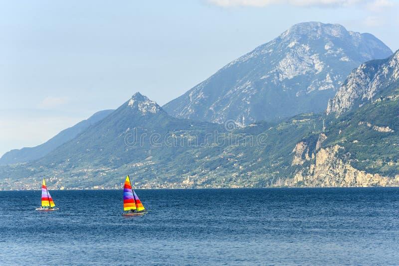 Download Garda Lake At Malcesine Stock Photos - Image: 26292133