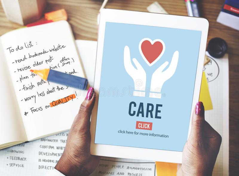 Garde Assurance Health Concept de protection de soin images libres de droits