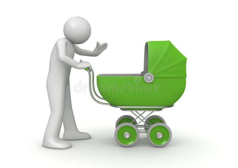 Garde d'enfants illustration de vecteur