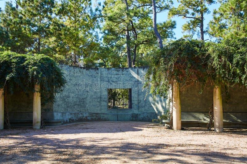 Garde de parc de Houston Hermann image stock