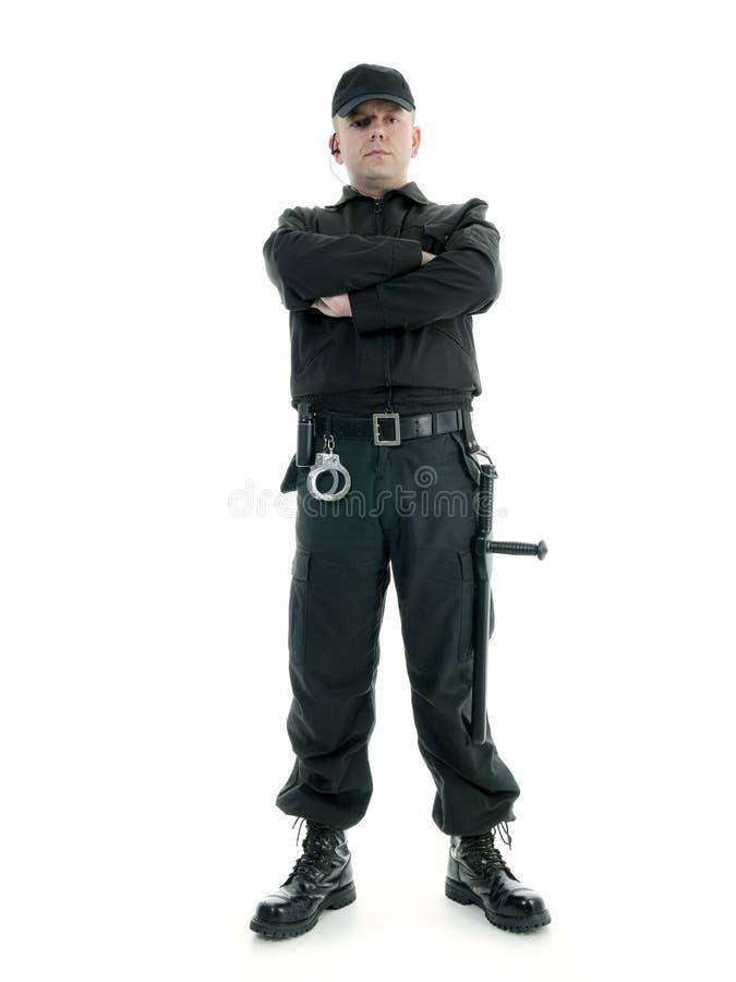 Garde de sécurité photo libre de droits