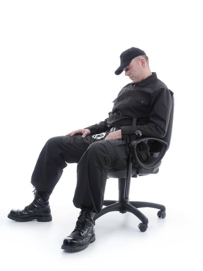 Garde de sommeil photo libre de droits