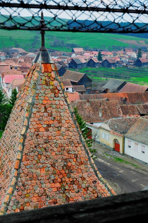 Download Garde du village image stock. Image du côté, grilles, allemand - 732115