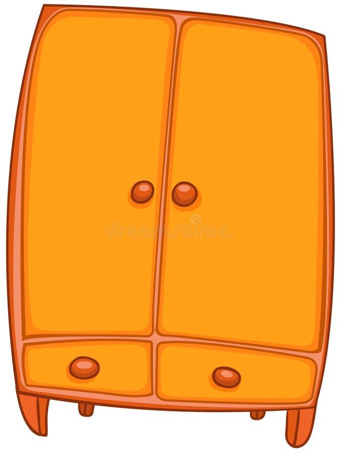 garde robe la maison de meubles de dessin anim photographie stock libre de droits image. Black Bedroom Furniture Sets. Home Design Ideas
