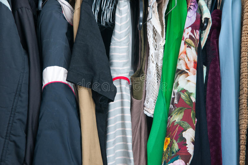 garde-robe photo libre de droits