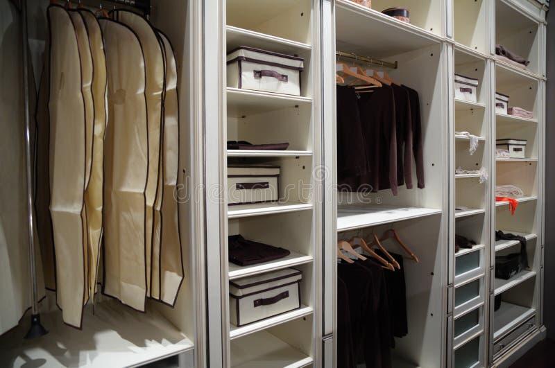 garde-robe photographie stock libre de droits
