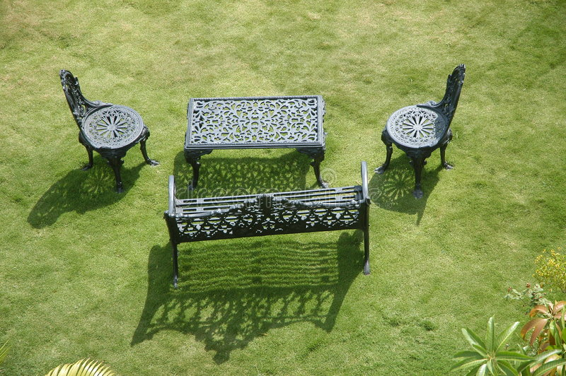Download Garden stock photo. Image of natural, chair, flower, sitting - 3086946
