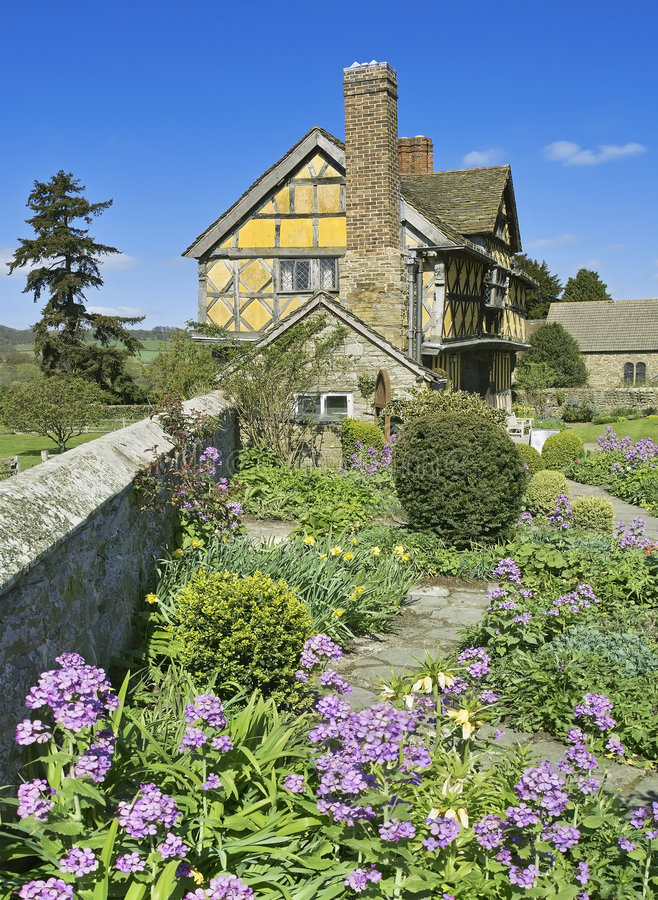 Download Garden stock image. Image of stokesay, horticulture, ancient - 3540877