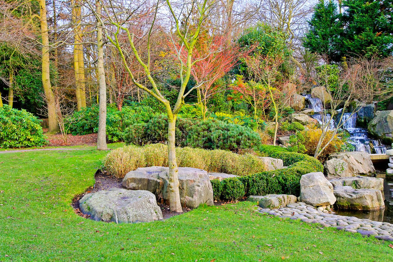 Download Garden At Autumn Royalty Free Stock Photos - Image: 15474538