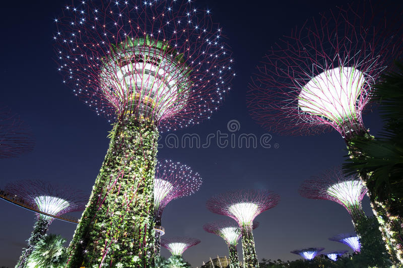 GARDEN BY THE BAY stock images