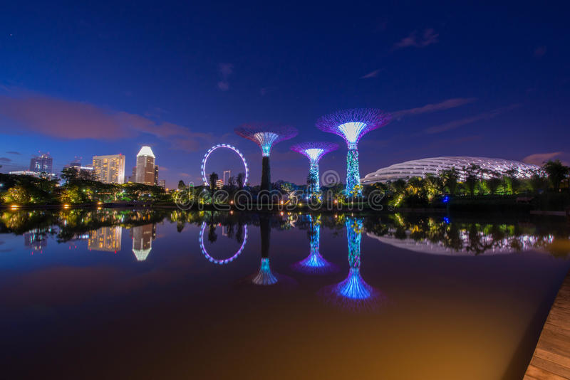 Garden By The Bay stock image