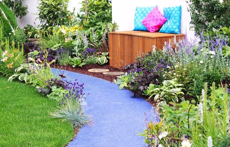 Download Garden bench stock photo. Image of gardening, green, nature - 13755336