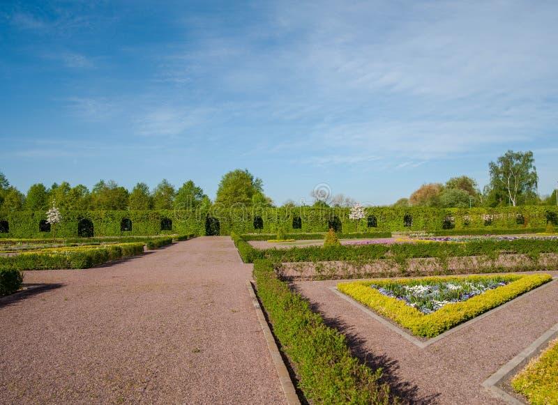 Garden, Botanical Garden, Sky, Estate royalty free stock image