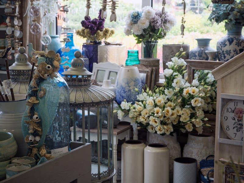 Garden center, garden store, part of the exhibition stock image