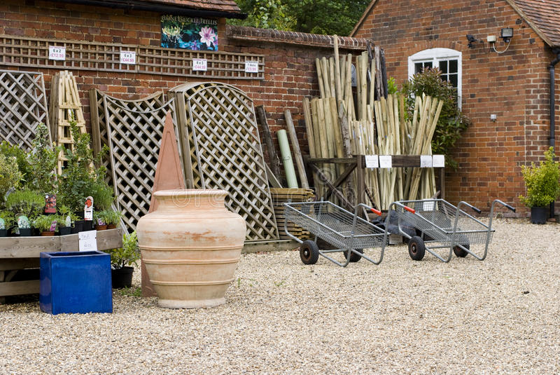 Download Garden centre stock image. Image of nursery, traditional - 15094375