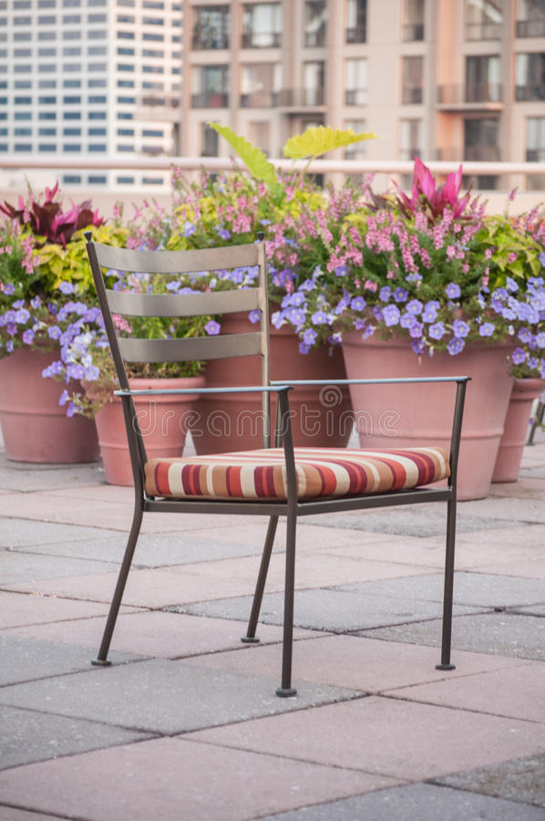 Download Garden Chair stock image. Image of floral, house, colorful - 26782483