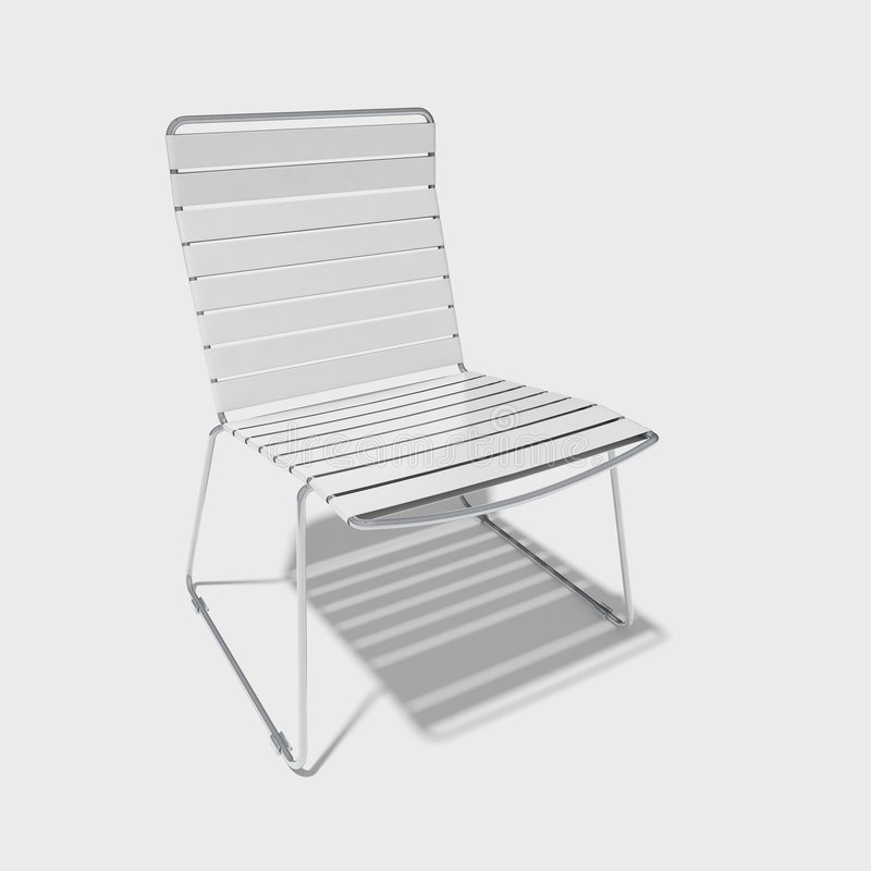 Download Garden chair stock illustration. Image of home, isolated - 4101180