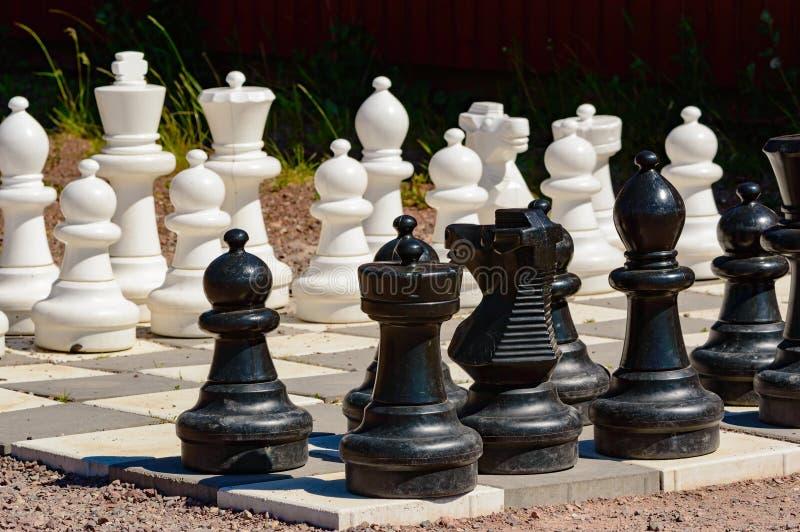 garden chess set. Download Garden Chess Set Stock Photo. Image Of Part, Gravel, Summertime - 56930040 O