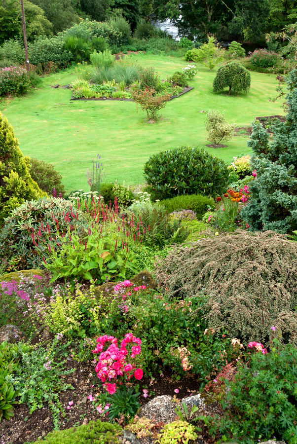 Download Garden in Cornwall stock photo. Image of environment - 24669648