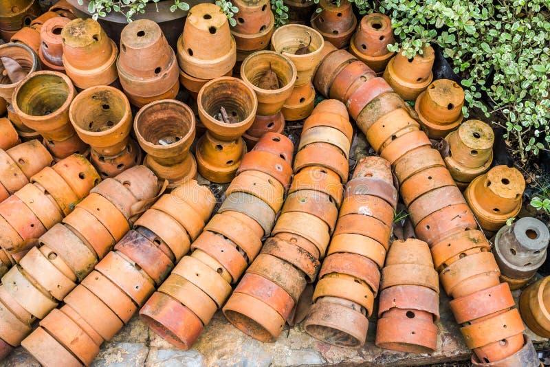 Garden decor styles. Of Nong Nooch Gardens in Pattaya,Thailand royalty free stock photo