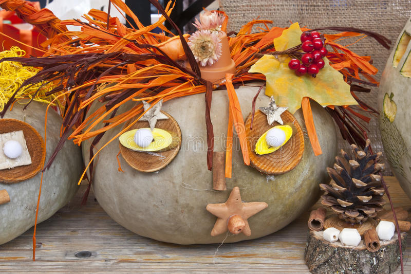 Garden decoration for autumn royalty free stock images