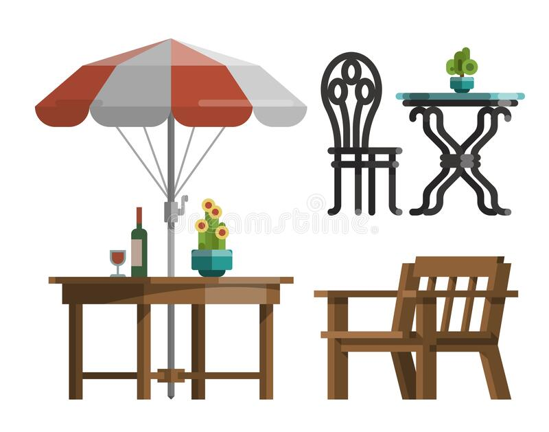 lounge chair or deck chair Royalty Free Vector Clip Art illustration  -hous1134-CoolCLIPS.com