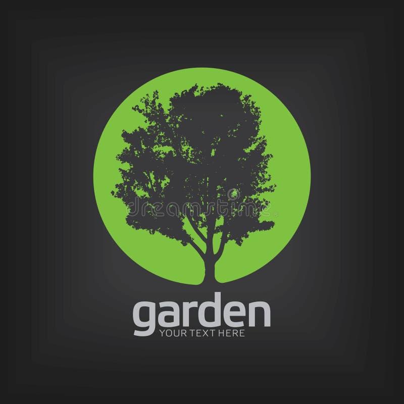 Garden Design Template Poster Stock Vector - Illustration of black ...