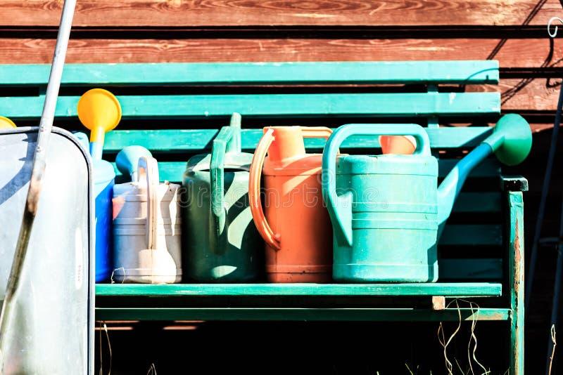Garden equipment royalty free stock photography