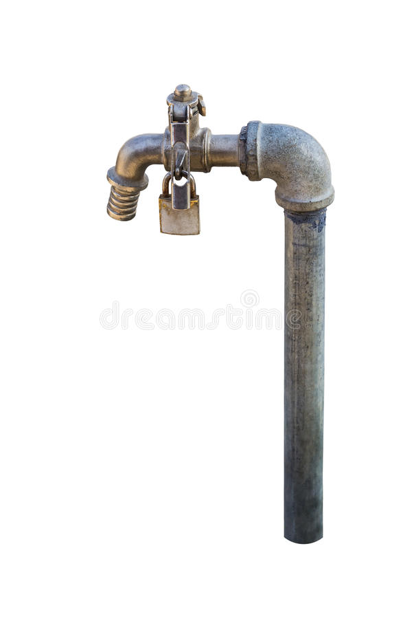 Download Garden Faucet Stock Photo. Image Of Steel, Outside, Outdoors    50405374